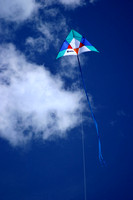 Kite from Breakwater at Two Harbors