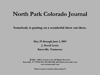 North Park Colorado Journal