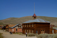 School and Power Statoin - Bodie, California