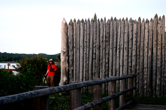 Fort at Grand Portage National Monument