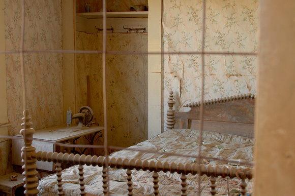 A Bedroom as They Left It - Bodie, California