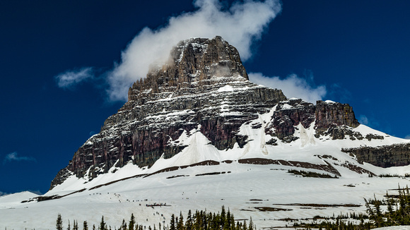 Clements Mountain from Logan Pass