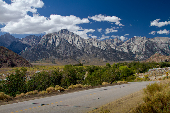 Approaching Mt. Whitney Portal