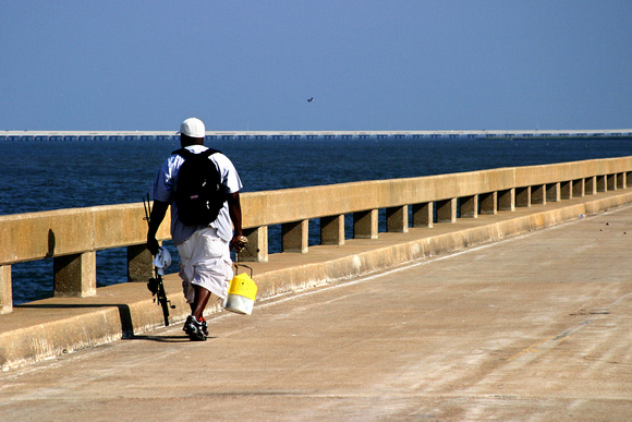 The Old Bridge to St. George Island