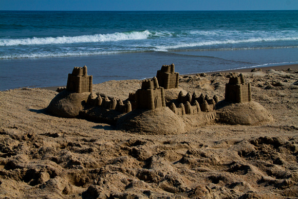 Sand Castle on Ocracoke Island