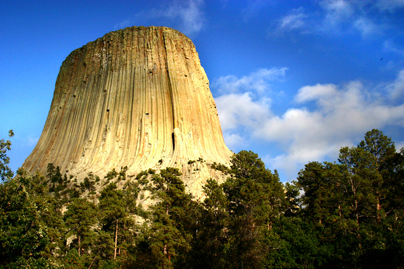 Devils Tower in Very Good Light