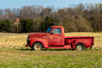 Old Red Pickup