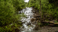 It was just a waterfall, like many others we saw. The spring and